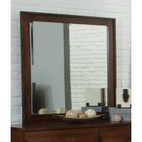 YORKSHIRE COLLECTION - Yorkshire Dark Amber and Coffee Bean Mirror
