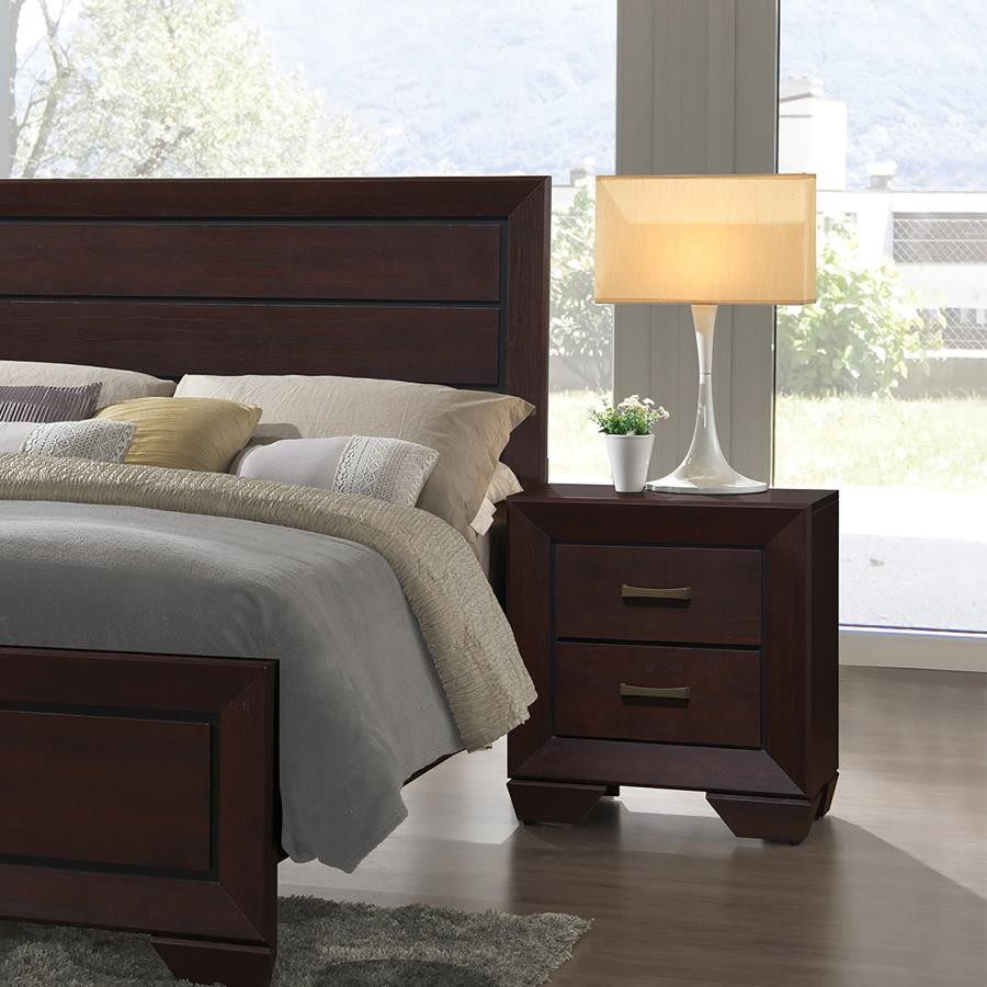 Furniture Factory Outlet: Fenbrook Dark Cocoa Two-Drawer