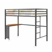 TWIN WORKSTATION LOFT BED - TWIN WORKSTATION LOFT BED