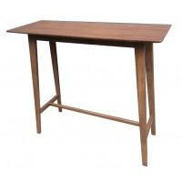 REC ROOM/ BAR TABLES: WOOD - BAR TABLE