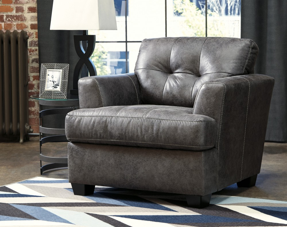 Attractive Inmon   Charcoal   Chair