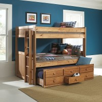A.W.F. 726 Bunkbed with Storage Trundle