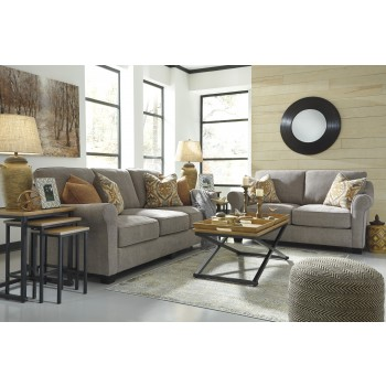 Leola - Slate - Sofa & Loveseat