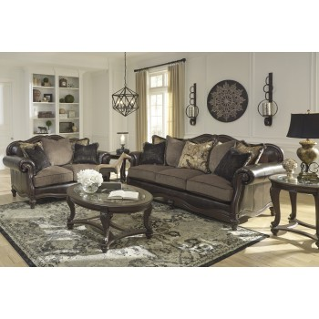 Winnsboro DuraBlend - Vintage - Sofa & Loveseat