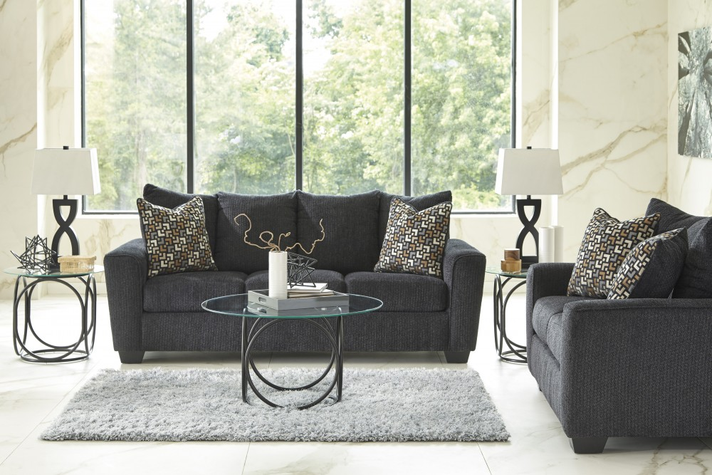 Wixon - Slate - Sofa & Loveseat