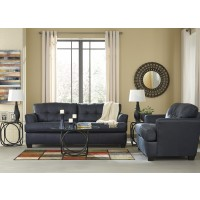 Inmon - Navy - Sofa & Loveseat
