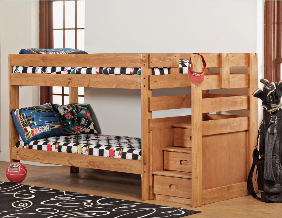 7087 Twin Bunk Bed