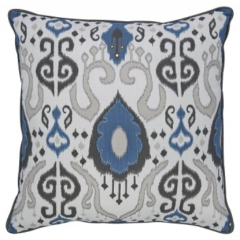 Damaria - Blue/Ivory/Brown - Pillow