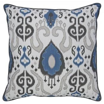 Damaria - Blue/Ivory/Brown - Pillow