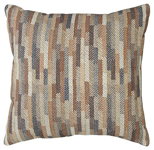 Daru - Cream/Brown/Blue - Pillow