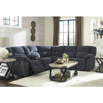 Timpson - Indigo 2 Pc. Reclining Sectional