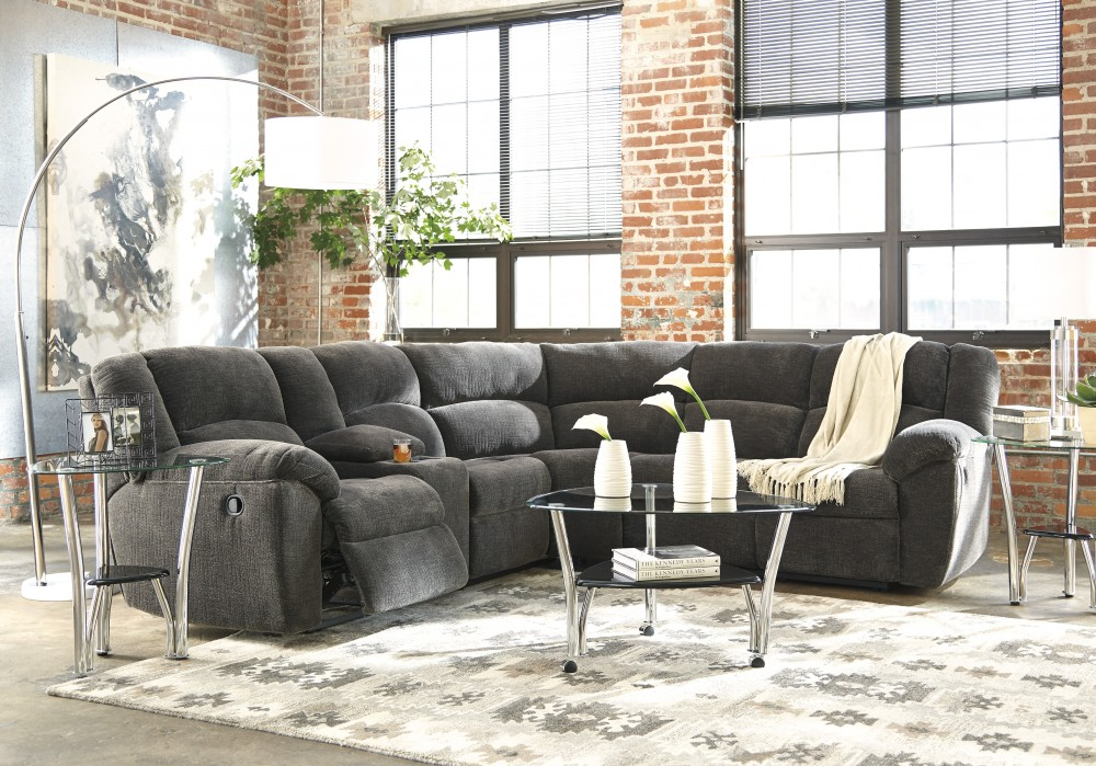Timpson - Slate 2 Pc. Reclining Sectional