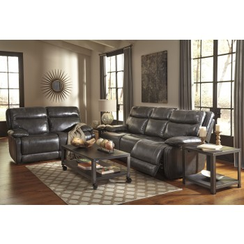 Palladum - Metal - Reclining Sofa & Loveseat