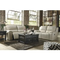 Valeton - Cream - Reclining Sofa & Loveseat
