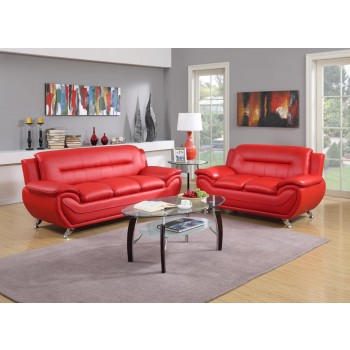 Red Sofa and Love Awesome Deal