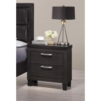Night Stand  Leather Top