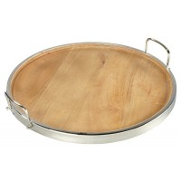 Octavian - Natural/Silver Finish - TRAY
