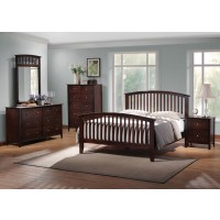 TIA COLLECTION - Tia Cappuccino King Bed