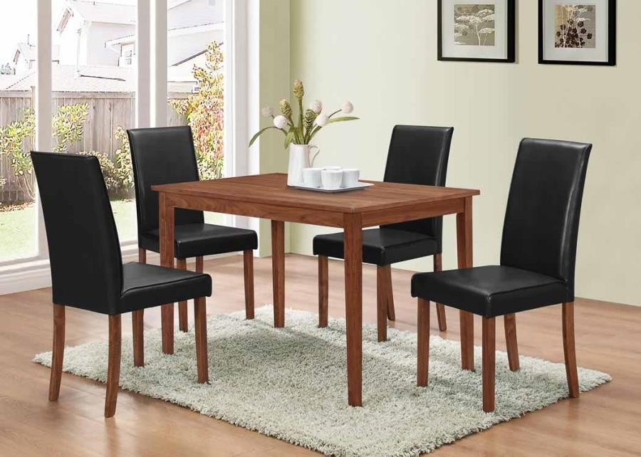DINING: PACKAGED SETS WOOD - 5 PC SET