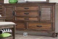 FRANCO COLLECTION - DRESSER