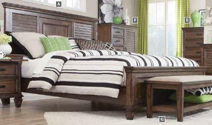 FRANCO COLLECTION - E KING BED