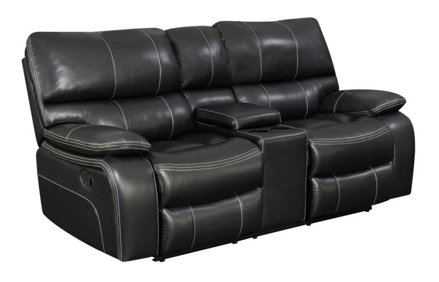 Leather Furniture Traveler Collection: Willemse Casual Black Motion