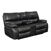 WILLEMSE MOTION COLLECTION - Willemse Casual Black Motion Loveseat