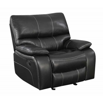 WILLEMSE MOTION COLLECTION - Willemse Black Glider Recliner