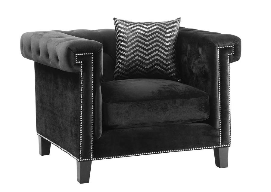 ABILDGAARD COLLECTION - Reventlow Formal Black Chair