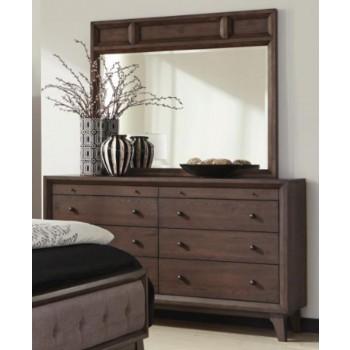 BINGHAM COLLECTION - Bingham Retro-Modern Dresser