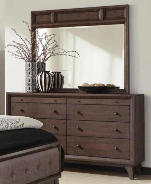 BINGHAM COLLECTION - Bingham Retro-Modern Dresser