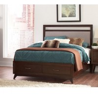 CARRINGTON COLLECTION - Carrington Mid-Century Modern Coffee Eastern King Bed