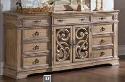 ILANA COLLECTION - Ilana Traditional Nine-Drawer Dresser