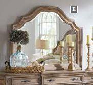 ILANA COLLECTION - Ilana Traditional Dresser Mirror