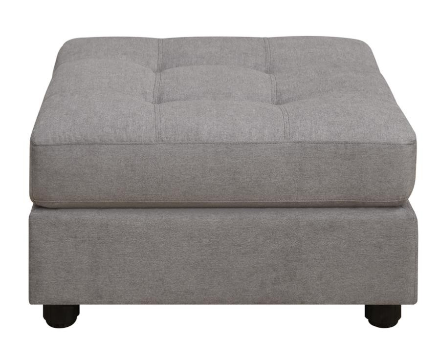 Claude Sectional Claude Causal Dove Ottoman 551006