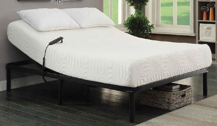 Adjustable Bed Base >> Stanhope Adjustable Bed Base Stanhope Black Adjustable Twin Extra Long Bed Base
