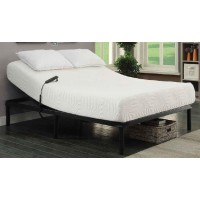 STANHOPE ADJUSTABLE BED BASE - Stanhope Black Adjustable Twin Extra Long Bed Base