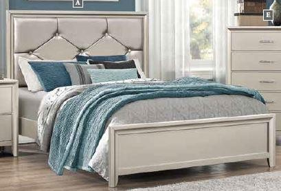 eastern king mattress euro king lana collection eastern king bed 205181ke complete beds jbs