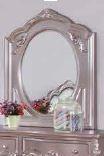 CAROLINE COLLECTION - Caroline Metallic Lilac Mirror