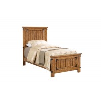 BRENNER COLLECTION - Brenner Rustic Honey Twin Bed
