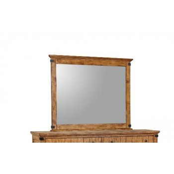 BRENNER COLLECTION - Brenner Rustic Honey Mirror