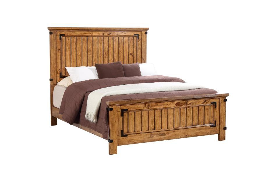BRENNER COLLECTION - Brenner Rustic Honey Full Bed
