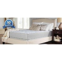 CRYSTAL COVE II PLUSH - Crystal Cove II Plush White Queen Mattress