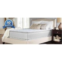 MARBELLA II PILLOW TOP - Marbella II Pillow Top White Queen Mattress