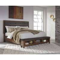 Ralene Cal King UPH Bed with Storage