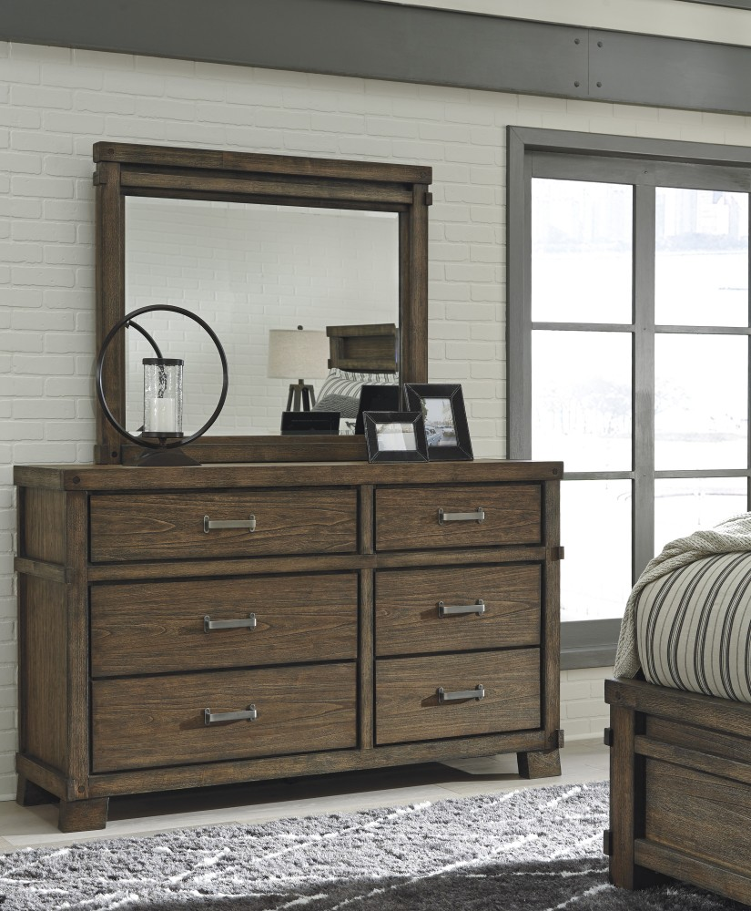 Leystone Dresser & Mirror