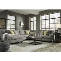 Cresson - Pewter 5 Pc. LAF Chaise Sectional