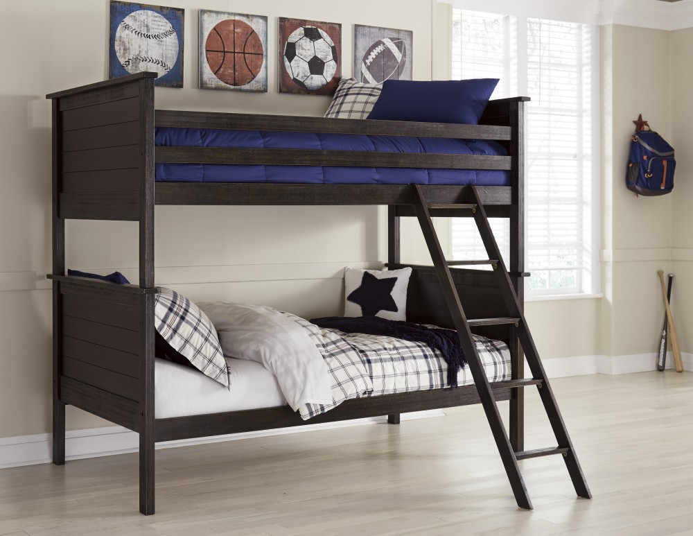Jaysom Twin Twin Bunk Bed B521 59p 59r 59s Bunk Beds Pricewise