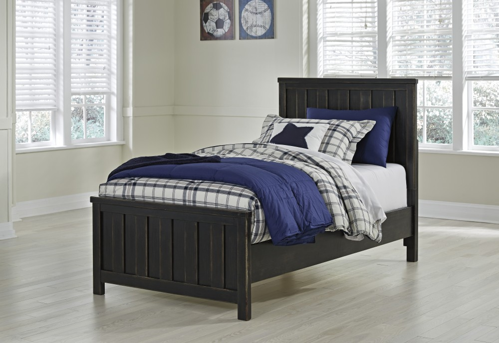 Jaysom Twin Panel Bed
