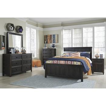 Jaysom Dresser, Mirror & Full Panel Bed